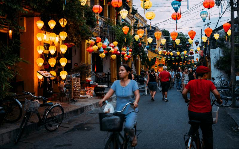 Wietnam - ulica.